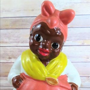 Black Americana Baker Cookie Jar